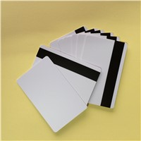 PVC Blank Magnetic Stripe Card for Supermarkets, Hotels Card