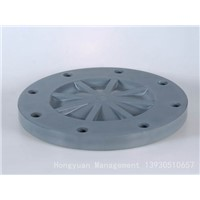 Plastic PVC Flange Cover Pipe Fitting