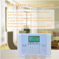 Professional Sms Door Alarm with LCD Screen Record Function Wireless Alarm System