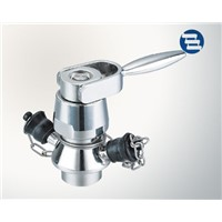 Sanitary Stainless Steel Manual Handle Type Welded Aseptic Sample Valve