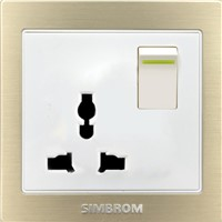 Wall Power Electric Switch Socket Chinese Manufacturer