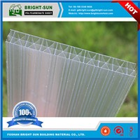 UV Blocking Fireproof Hollow x-Structure Polycarbonate Sheet for Skylight