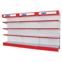 Shop Display Tool Shelf with Lightbox & Header