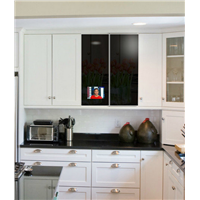 New Arrival Smart Touch Screen Cabinet Door TV for Kitchen