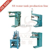 Stainless Steel Water Tank Seam Welding Machine Water Tower Production Line Making Equipment
