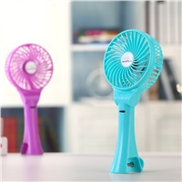 USB Portable DC 5V Mini Battery Hand Hold Traveling Fan Big Wind