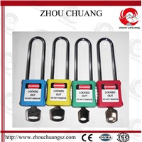 GPS 76mm Non-Conductive Xenoy Padlock with Customized Logo