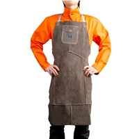 Full Protect for Body Front Welding Leather Bib Apron Leather Apron Welding Apron
