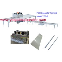 PCB Separator with PCB Depaneling Machine