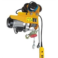 PA Mini Electric Wire Rope Hoist with Electric Trolley
