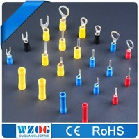 Tin Plated Copper & Brass Insulated Crimping Terminal