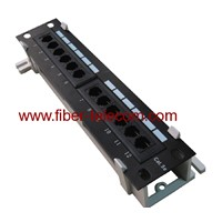 CAT. 5e UTP Wall Mounted Patch Panel 12 Ports