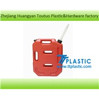 Plastic Gasoline Tank Portable Motorcycle Fuel Tank Jerry Can 10L