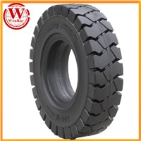 High Quality 5.00-8 Forklift Shaped Solid Tire