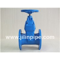 Gate Valve, Flanged Resilient Seat Non-Rising Stem Gate Valve.
