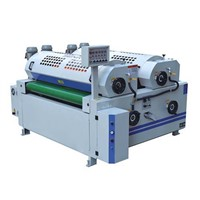 Full Precision Double Roller Coating Machine for Cabinet Board/MDF Board