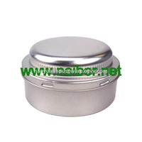 Custom Printing 250g Round Metal Tin Car Wax Container Car Polish Can Chemical Can with Foam & Plastic Cap