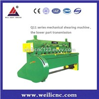 DURABLE HOT SELLING Q11-13*2500 Lower TRANSMISSION SHEARS, Metal Cutting Machine MADE IN CHINA (MAINLAND )