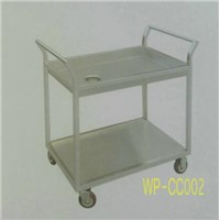 Stainless Steel Food Cleaning Cart for Commerical Kithen, Dining Room, Restaurant, Hotel