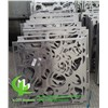 Metal Aluminum Panel Laser Cut Perforated Panel For Decorative