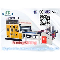 Corrugated Carton Paper Box Printing Slotting Machine