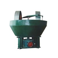 Gold Ore Separator of Wet Pan Grinder, Grinding Machine