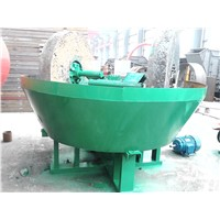 Gold Ore Beneficiation Wet Pan Grinding Mill