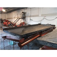 Gravity Shaking Table for Gold Ore Beneficiation