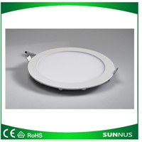 LED Down Lights, Round, 15W, CE/EMC/LVD/Bis/SAA/C-Tick Certified
