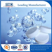 3inch 200g Chlorine Tablet 90% TCCA with Tablet Press Machine