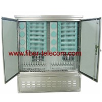 Fiber Optic Cross Connection Cabinet 2-Door