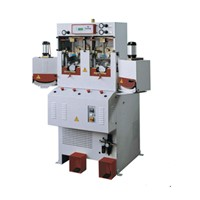 ALFA82 CF2HP Double-Cooling & Double-Heating Computer Toe Cap Molding Machine / Toe Upper Forming Machine