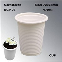 Hot Drinking High Quality Cornstarch Disposable Tableware Beverage Use Eco-Friendly Coffee Cup