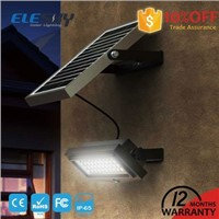 Motion Sensor 10W Solar Emergency Wall Light with CE / FCC / RoHS / IP65