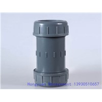 Plastic PVC Expansion Joint Pipe Fitting