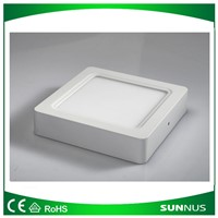 6W Surface Mounted LED Panel Light Square with 2 Years Warranty, LVD & EMC of CE