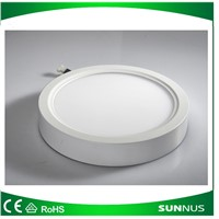 12W Surface Mounted LED Panel Light Circular Round Ceiling Downlight Wall Lamp