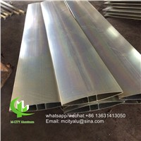 Metal Aluminum Extruded Aerofoil Louver Sun Louver for Facade Window