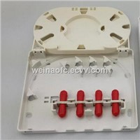 Fiber Optic Access Terminal Box 4 Ports with ST Coupler