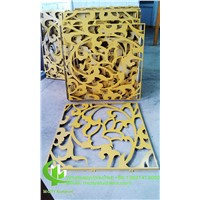 CNC Aluminium Decorative Wall Panels for Building Or Garden