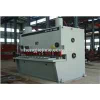 Guillotine Shearing Machine by Two Synchronous Cylinders for Steel Plate
