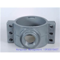Plastic PVC Saddle Plug Pipe Fitting