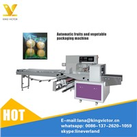 Horizontal Packaging Machine for Vegetable & Fruit Packaging