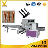 Fully Automatic 50pcs Spoon Packaging Machinery Packing Machine Manufacturer