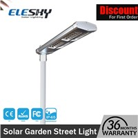 Rechargeable Battery Waterproof Outdoor Solar LED Street Lamp with High Quality