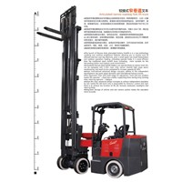 Articulated Narrow Roadway Forklift Truck