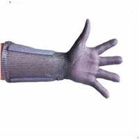 Metal Mesh Butcher Glove with Cuff