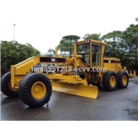 Used Caterpillar Motor Grader 14h with Four Scarifier on Sale for Construction