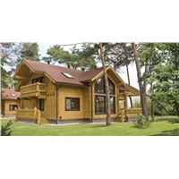 Cheap Modern Wood Villa for Sale
