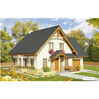 Prefab Wooden Cottage with Low Price